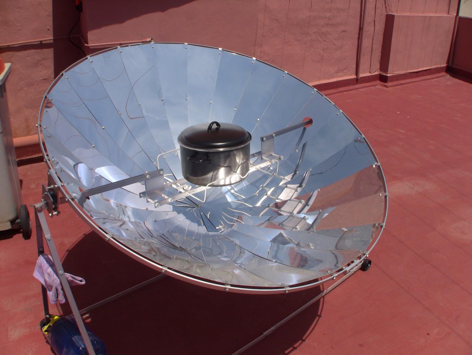 Captura de fotones mayo 2012 for Planos para cocina solar parabolica
