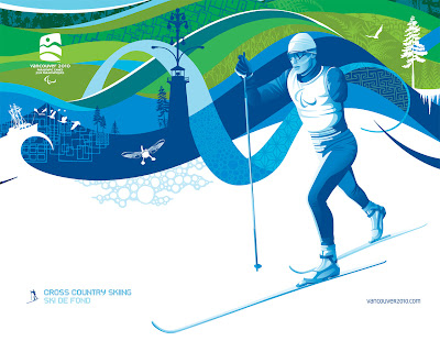 Free Vancouver 2010 Olympic Winter Games PowerPoint Background 27