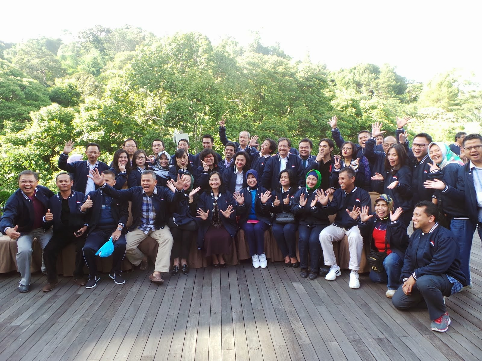Team Building Otoritas Jasa Keuangan