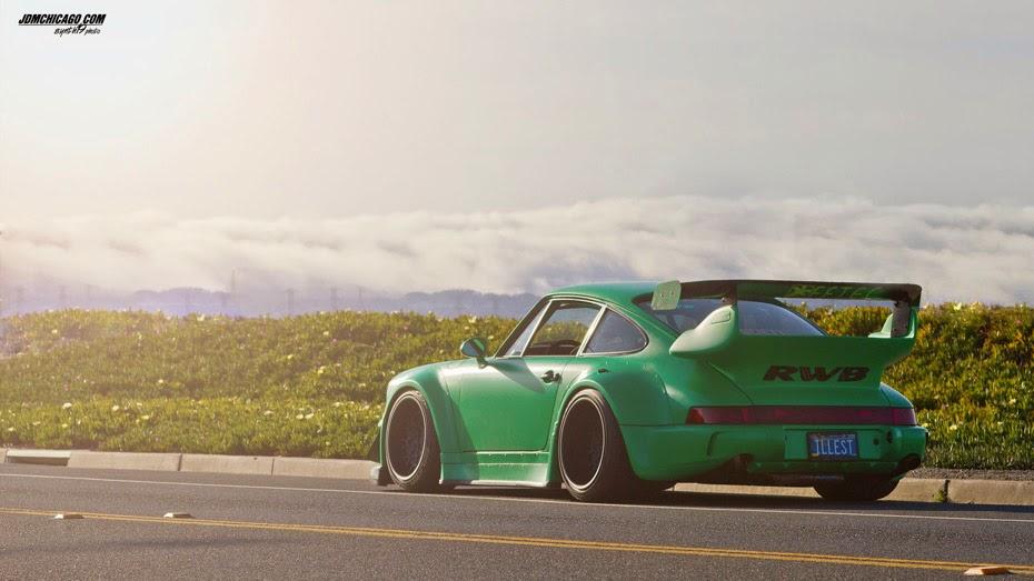 RWB Porsche Tuner in Japan Unites Euro and JDM