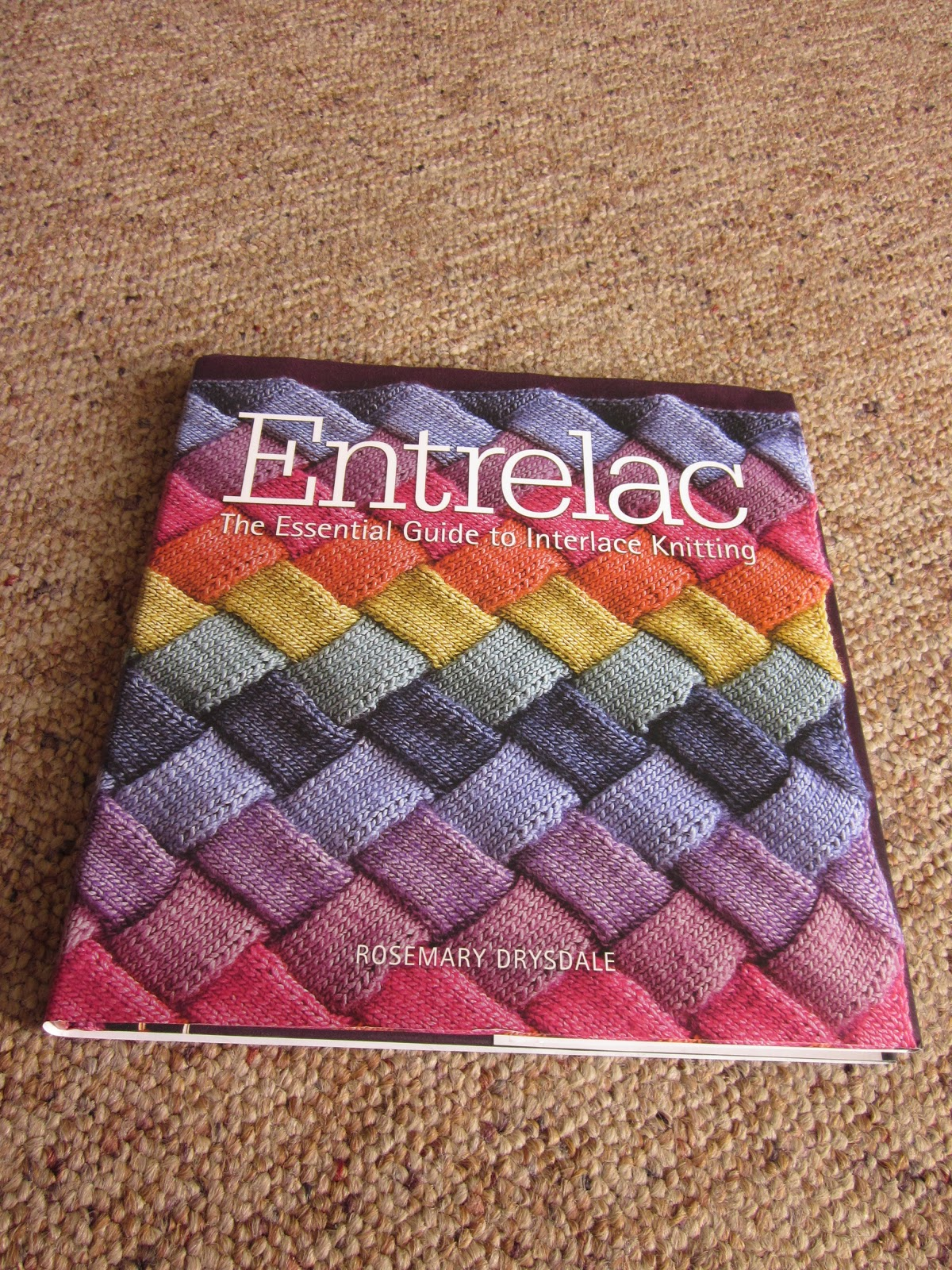 Entrelac Knitting Pattern Books : The Crooked Knitter: Book Review: Entrelac
