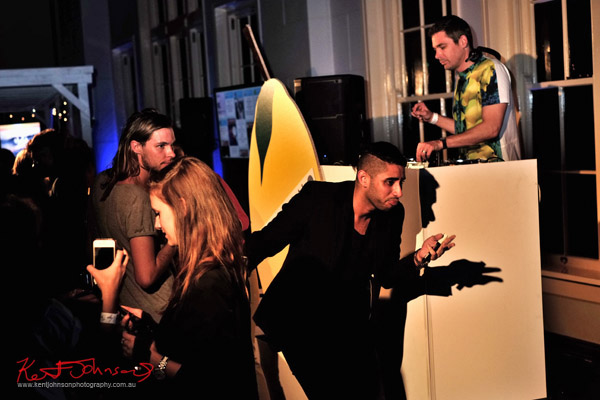 Dancing and the DJ, The Social Party at Pelicano David Jones for VFNO