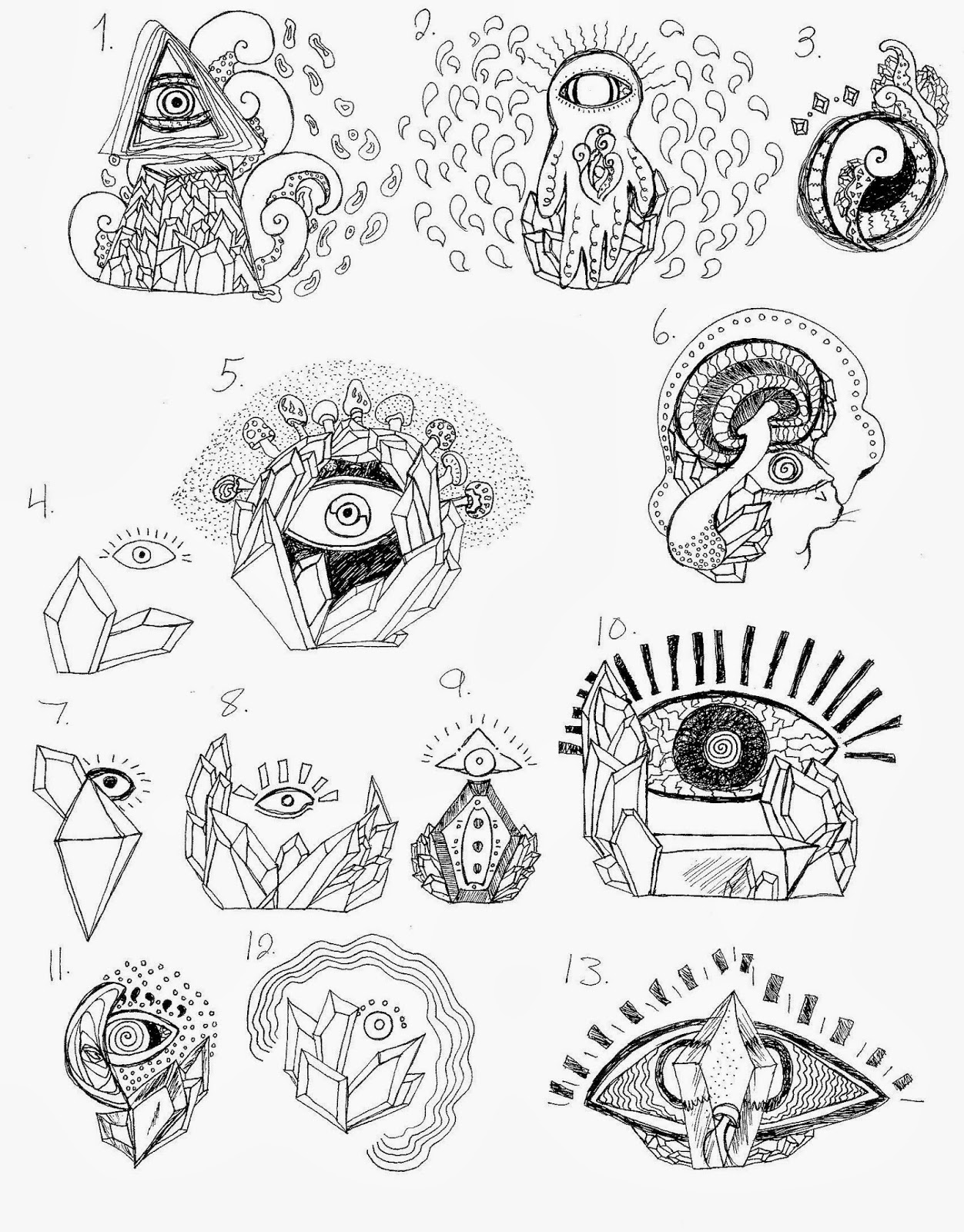 Illuminati Tattoos Designs I am currently working on