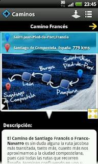 Apps para el movil del Camino de Santiago