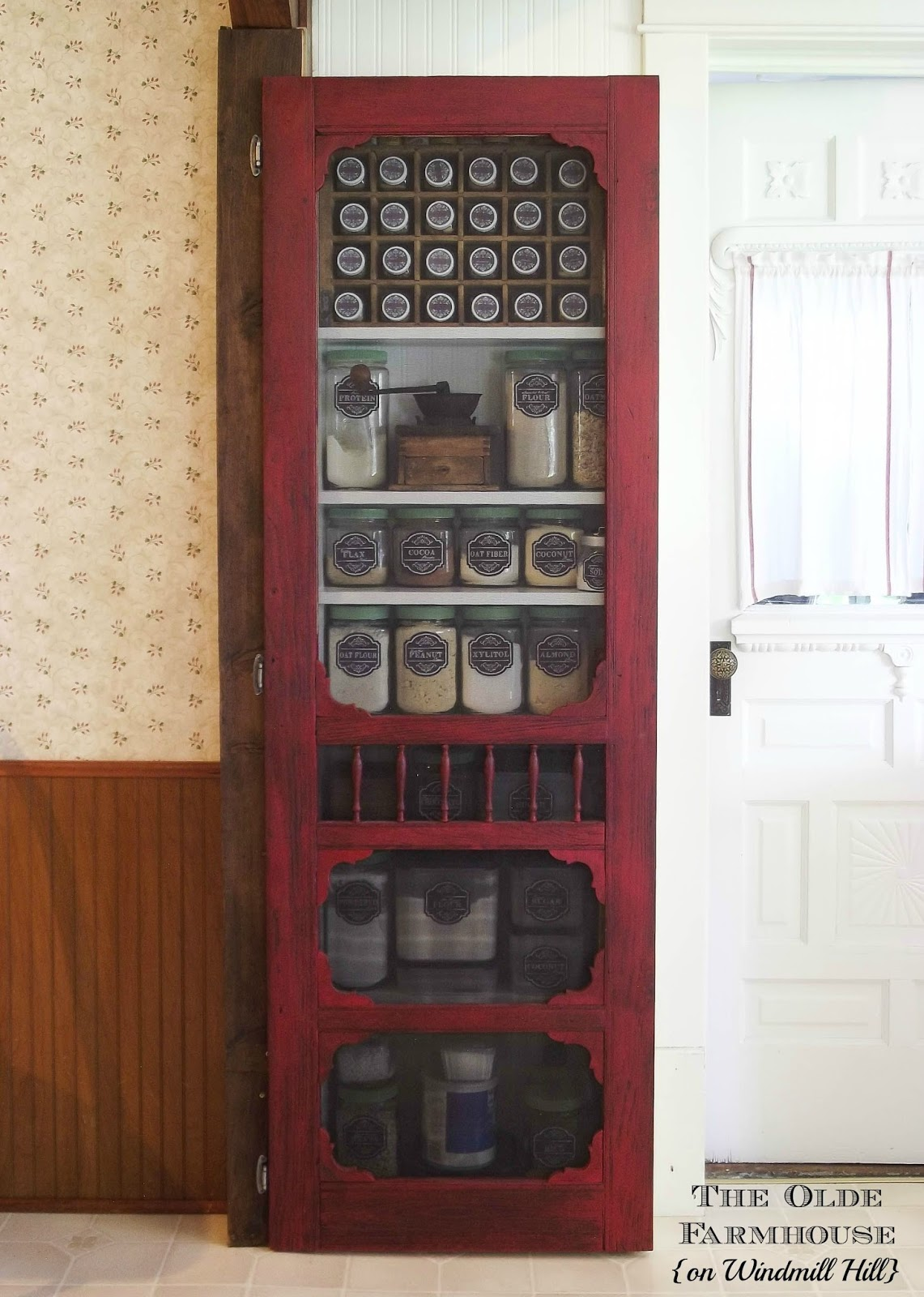 Old Screen Door Pantry