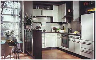 decora y disena Cocinas Pequeas en Forma de ELE