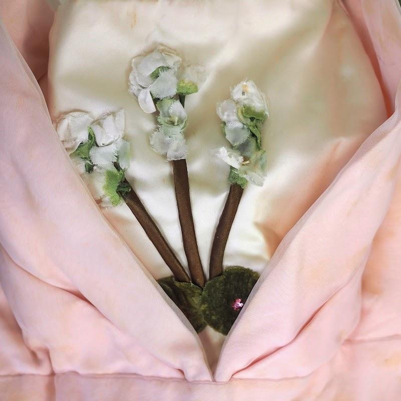 1950s pink prom dress