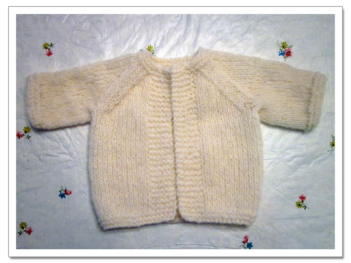 Knitting Pattern For Toddler Raglan Sweater : Lula Louise: Avas Frappe Cardigan - Baby Sweater