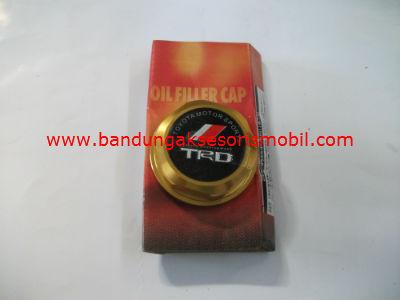 Tutup Oil TRD Kuning