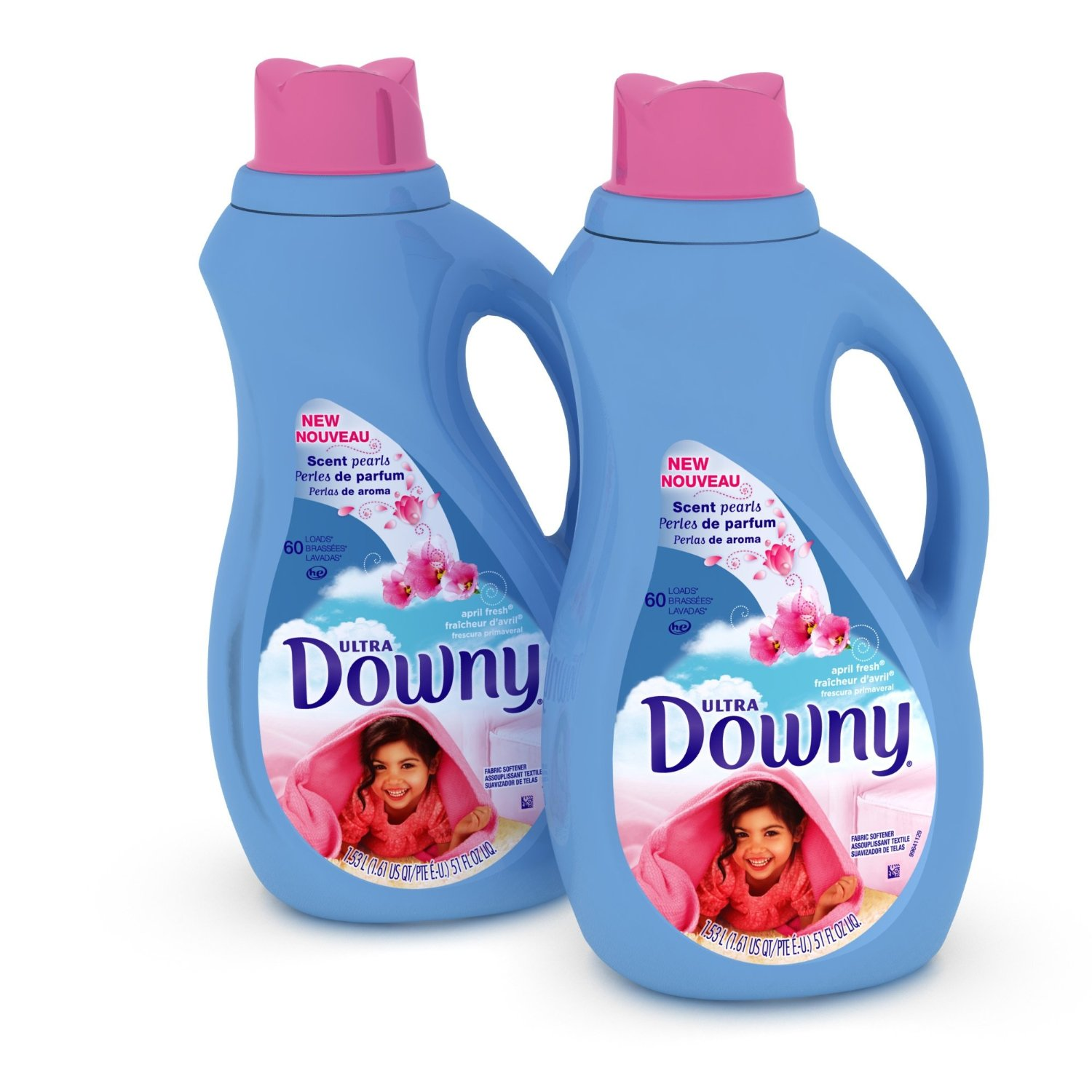 Downy April Information about:Fresh Liquid Fabric Softner, 51 Ounce Plastic Bottle
