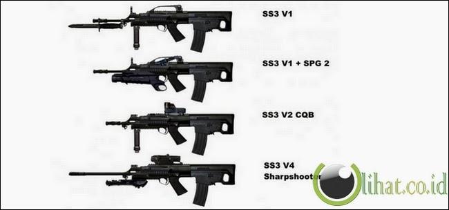 senjata buatan indonesia