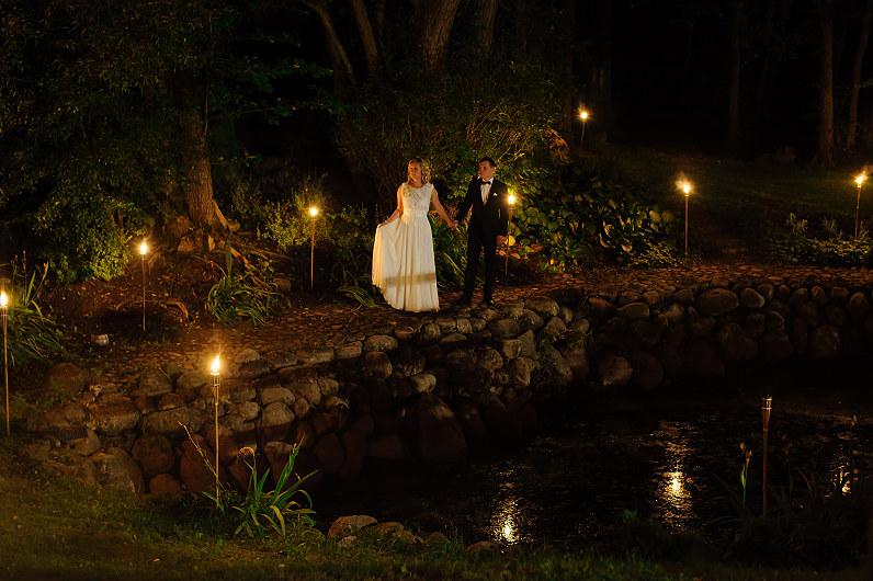 naktinė vestuvių fotosesija