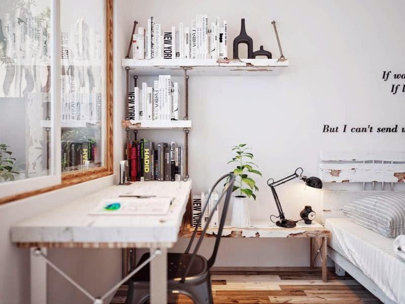 decorating ideas for small attic apartments - Hogares Frescos 5 Modernos Dormitorios que Proporcionan
