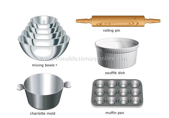 Baking- Cake: Baking Utensils
