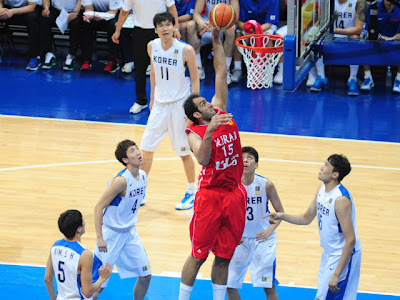 2013 FIBA Asia Championship, FIBA Asia, Iran, South Korea