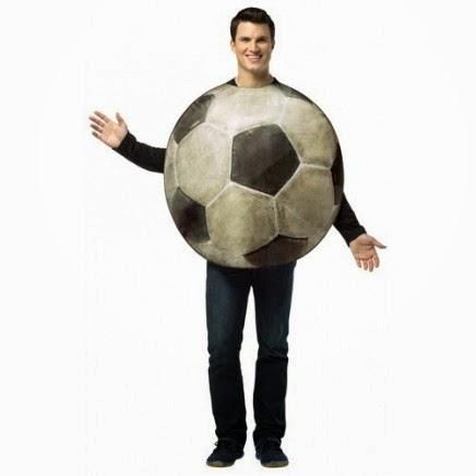 Disfraz Balón de Fútbol