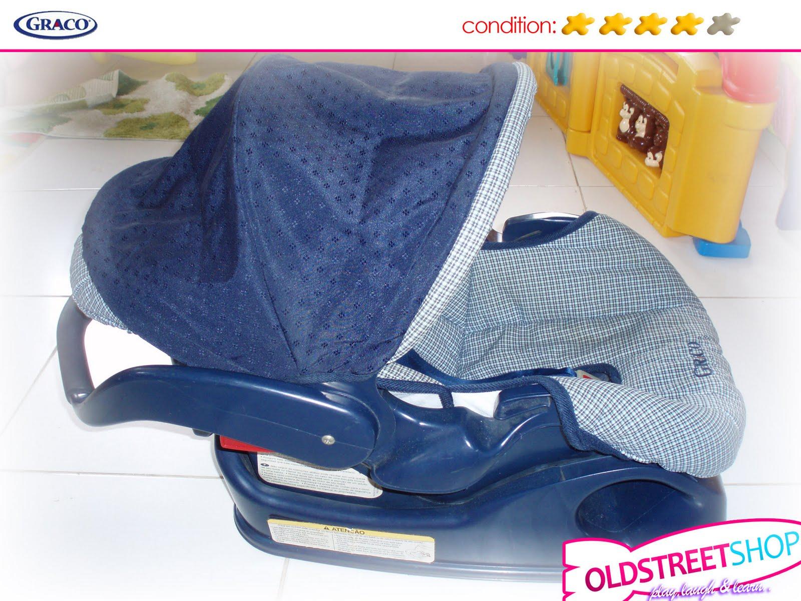 oldstreetshop graco literider car seat with base. Black Bedroom Furniture Sets. Home Design Ideas