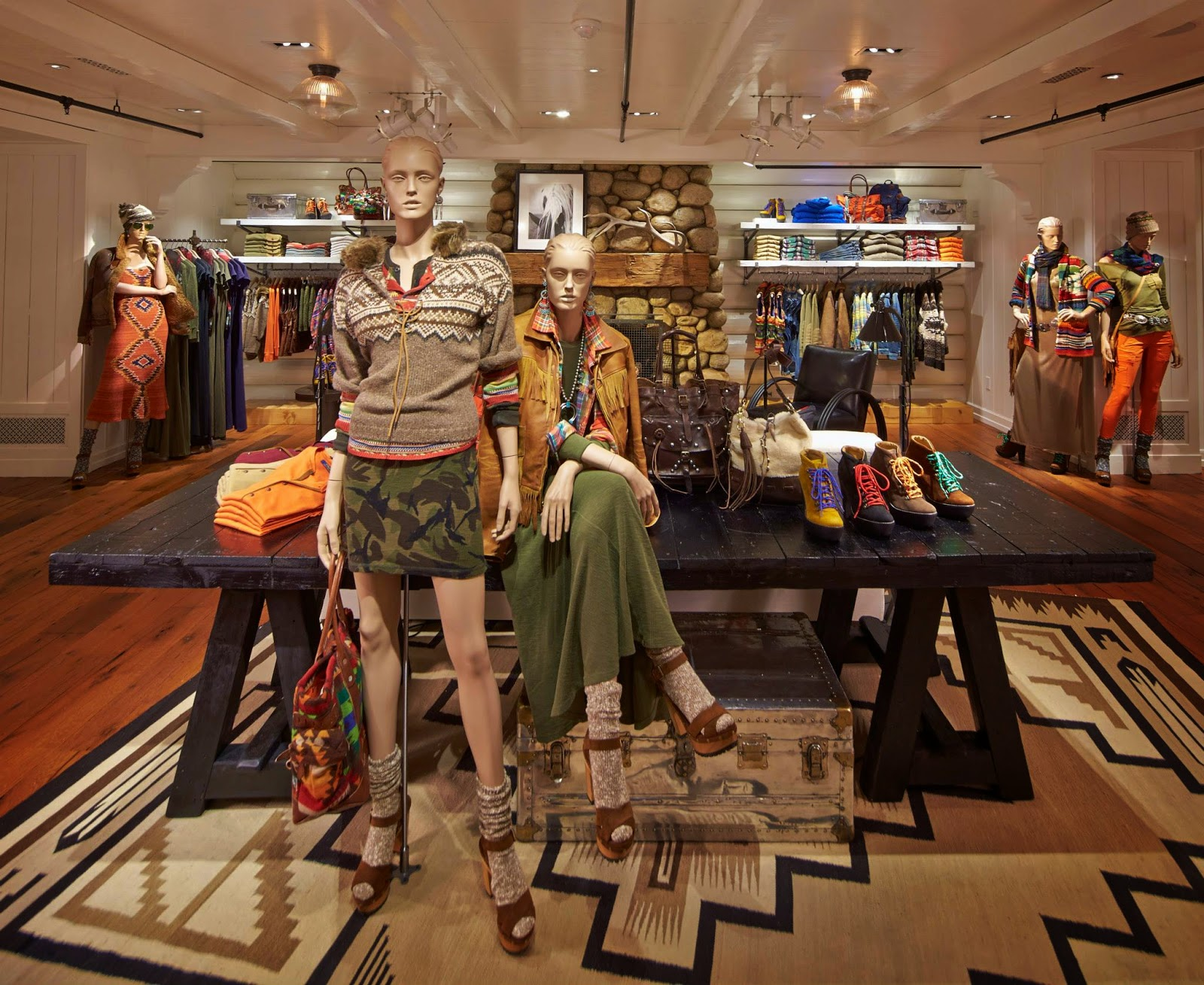Chad 39 s drygoods polo ralph lauren global flagship store for Ralph lauren flagship store nyc