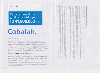Voucher Adwords murah asli
