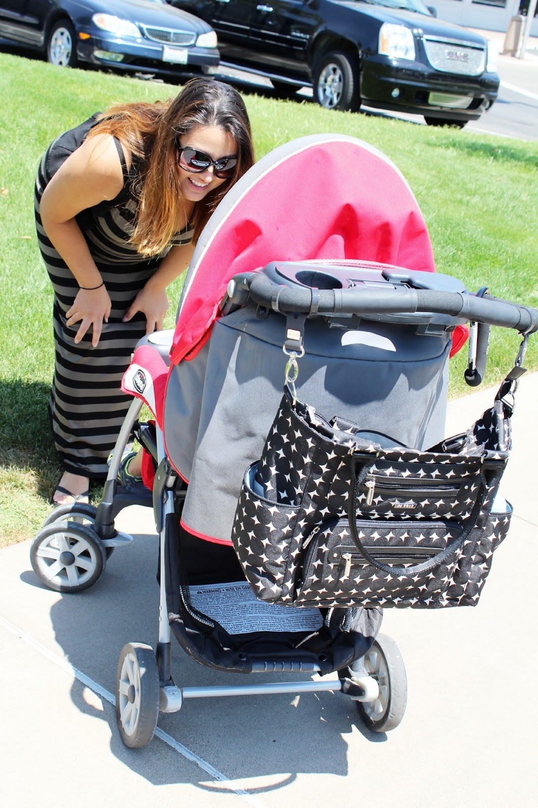 JJ Cole Collections' Caprice Diaper Bag + Giveaway - Glam Hungry Mom
