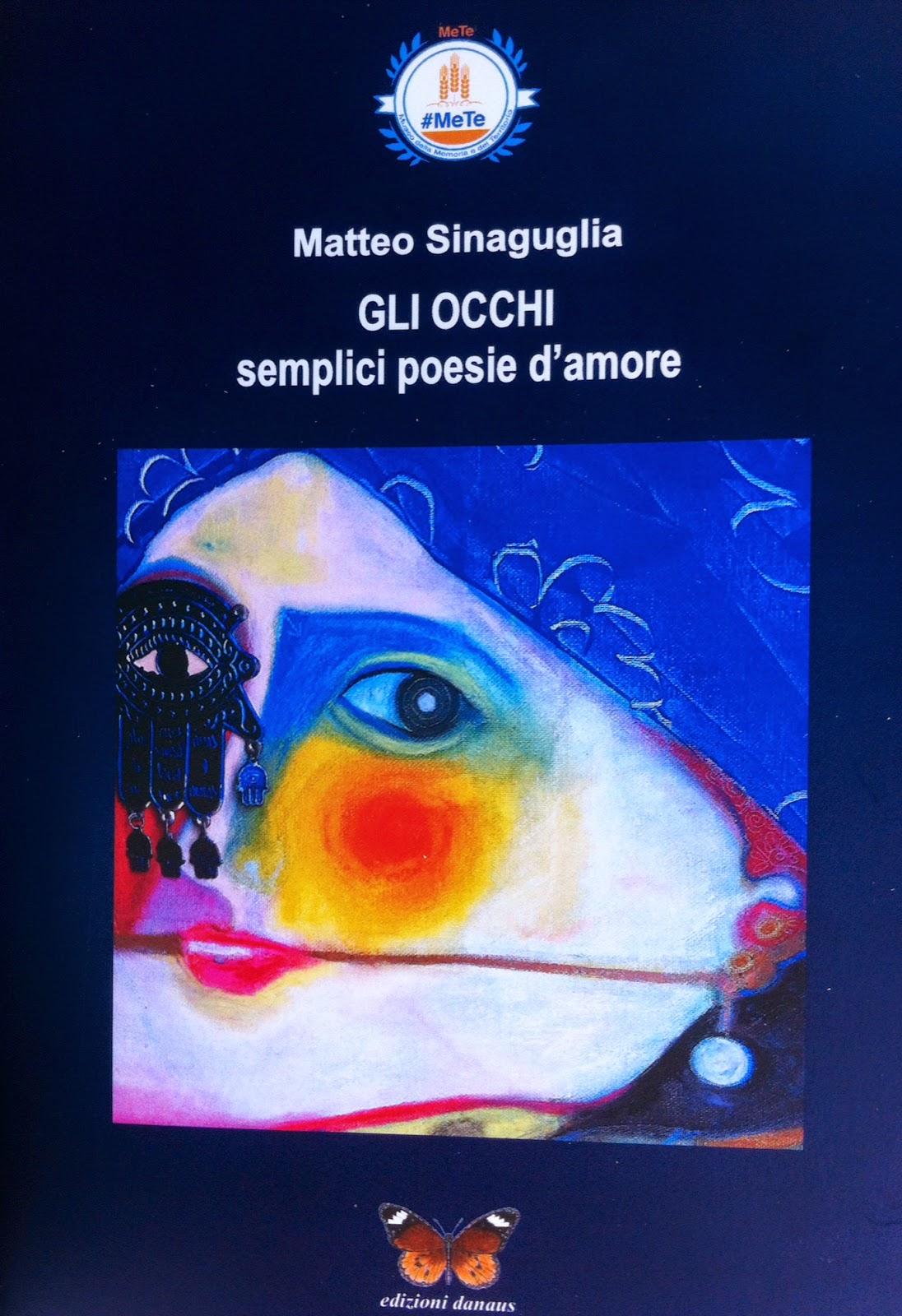 Gli Occhi, semplici poesie d'amore di Matteo Sinaguglia, Museo #MeTe Siculiana