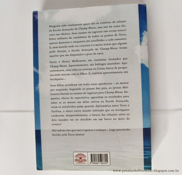 livro, Cisne, Eleonor Hertzog, literatura nacional, fantasia, resenha, trechos, parceria, contracapa, Editora Dracaena