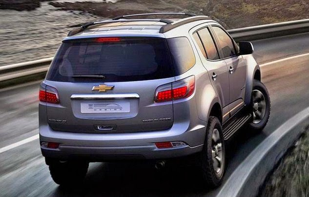 2016 Chevy Trailblazer Rear View