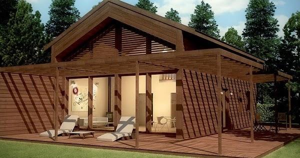 Planos de casas gratis planos casa con buhardilla de 90 m2 - Casas con buhardilla ...