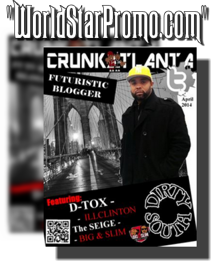 "HiphopNews24-7's ""Futuristic Blogger Featured in Crunkatlanta Magazine"