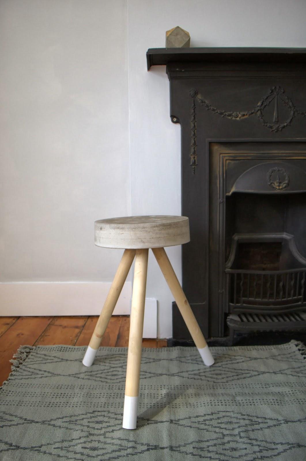 DIY & nostalgiecat: Concrete stool...DIY islam-shia.org