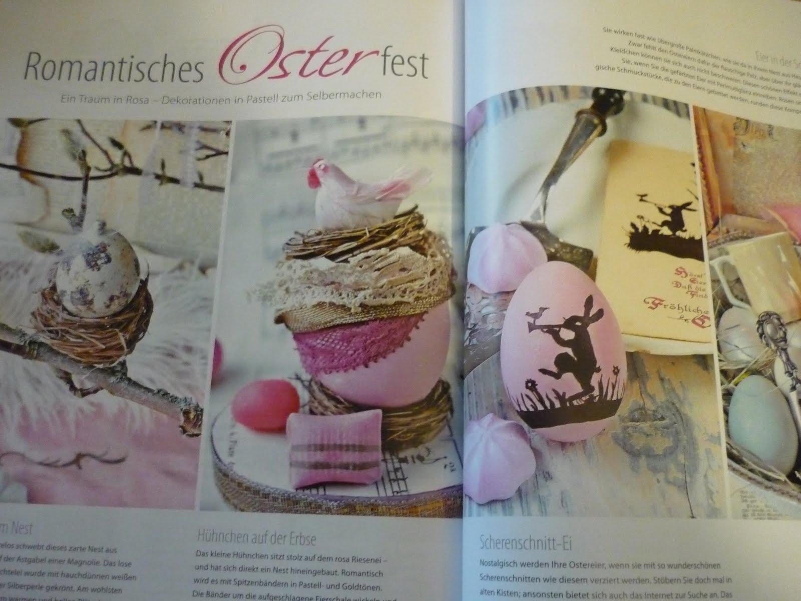 Stickliese februar 2012 for Zeitschrift wohnen und deko