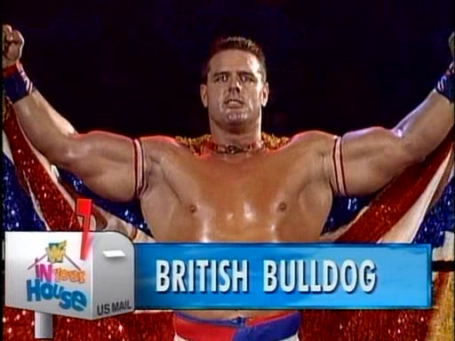 WWF / WWE - In Your House 3 - Triple Header -  British Bulldog wrestled in two matches