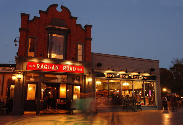 Pub Raglan Road em Downtown Disney