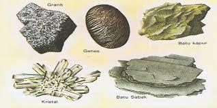 jenis-jenis batuan