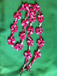 Crochet Flawer Scarf