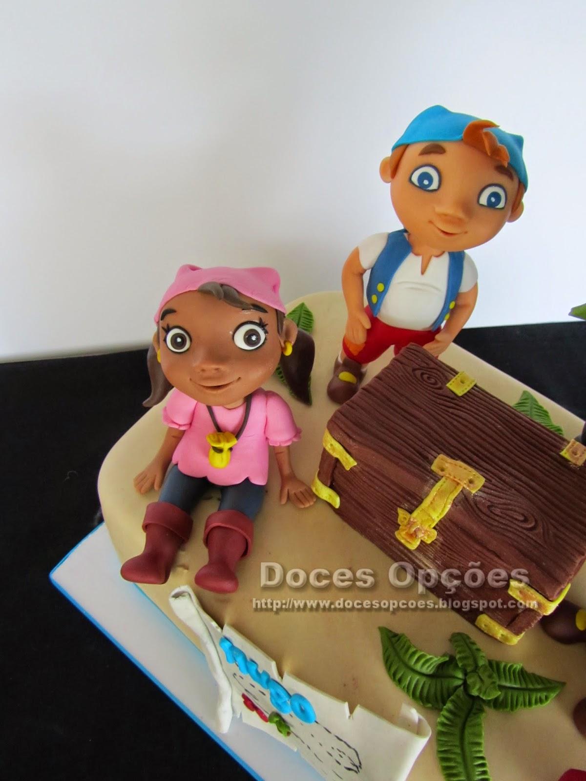 bolos decorados piratas