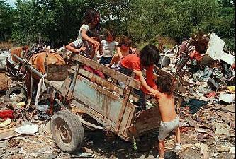 Villa miseria en Argentina