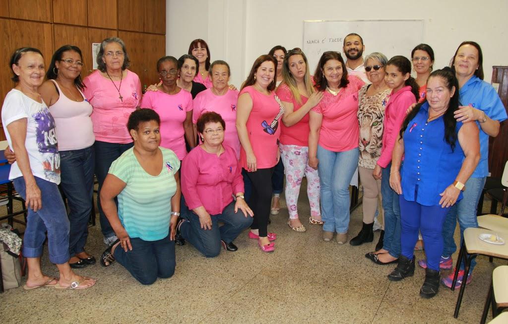 Outubro Rosa e Novembro Azul: Secretaria da Mulher promove encontro para marcar inicio da campanha contra o câncer