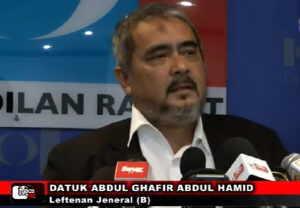 Leftenan Jeneral (B) Datuk Ghafir Abdul Hamid