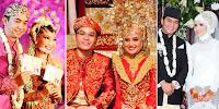 Foto inspirasi pernikahan selebriti yang berhijab