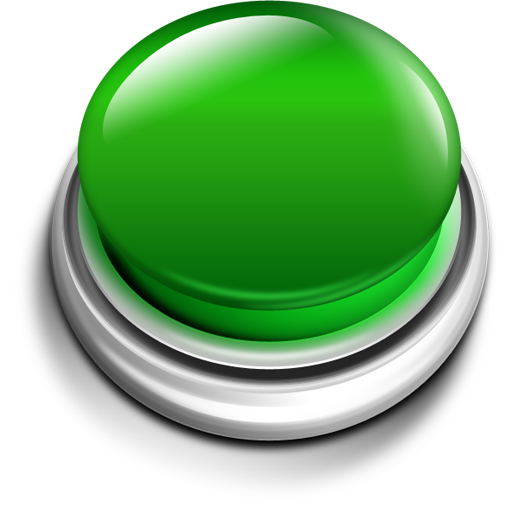 Help button icons psd file photoshop and 3d - Green button ...