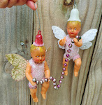 Double Fairies ornament