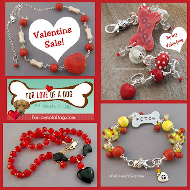 Valentine Sale at For Love of a Dog Jewelry