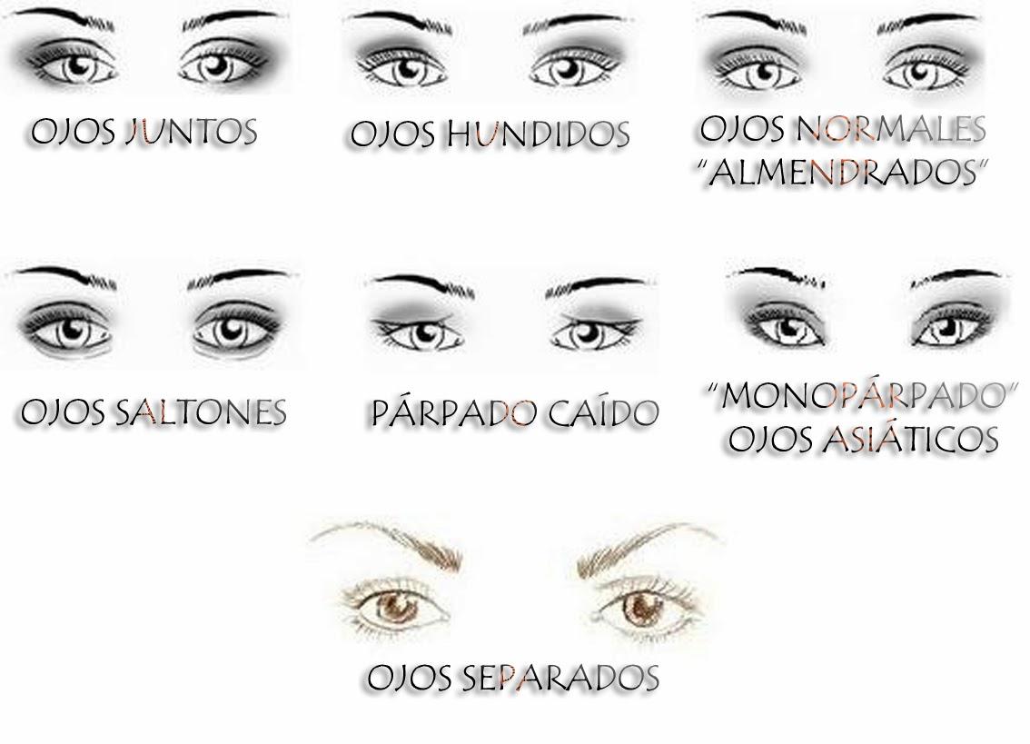 My style maquillaje segun la forma del ojo for Distintas formas de maquillarse los ojos