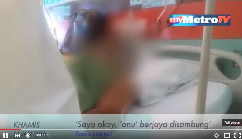 Isteri Potong Anu Suami: Saya Akan Ceraikan Dia