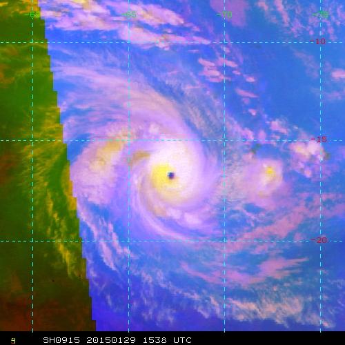 Eunice: l'un des cyclones les puissants du sud ouest indien