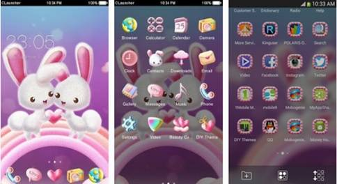 Tema Lucu HP Android