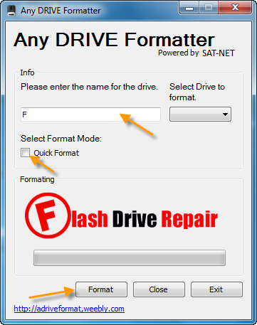 usb drive format software free