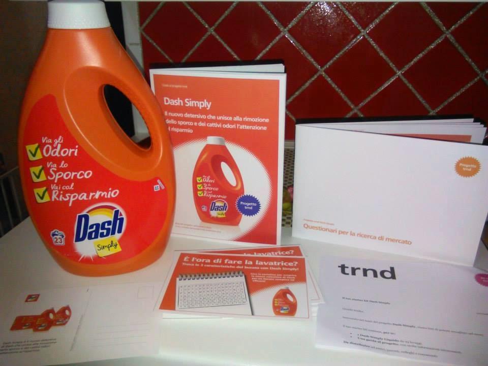 Tester DASH SIMPLY per TRND