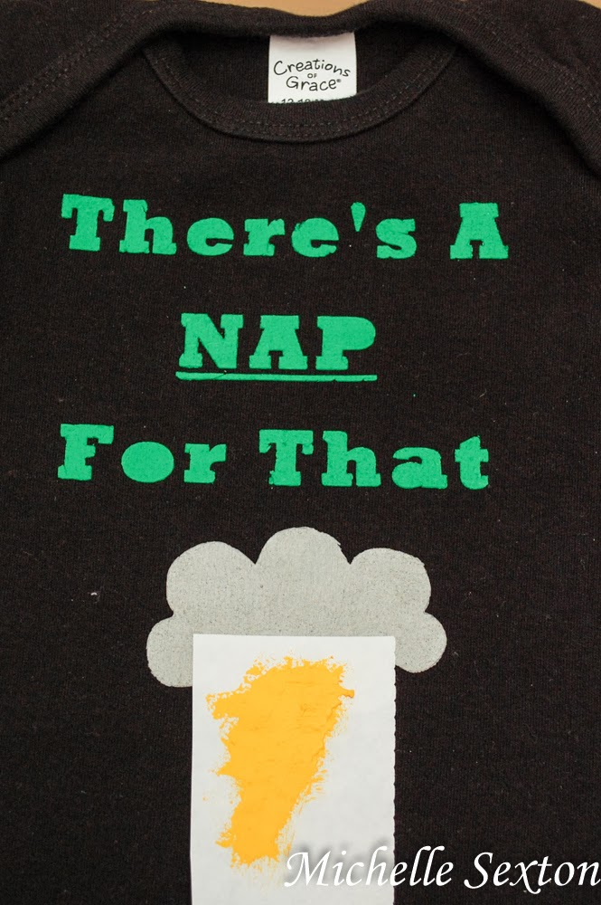 There's A Nap For That Onsie Tutorial